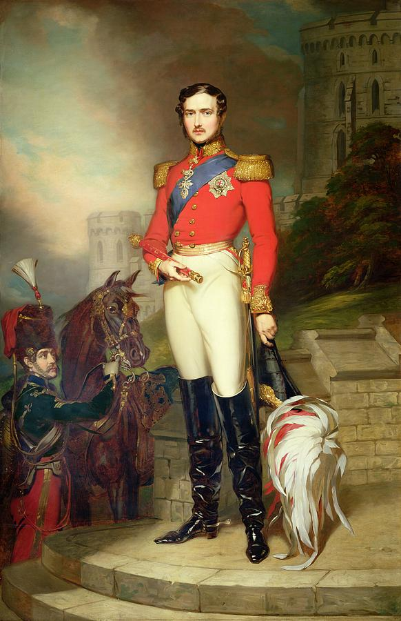 Fusilier Painting - Prince Albert by John Lucas
