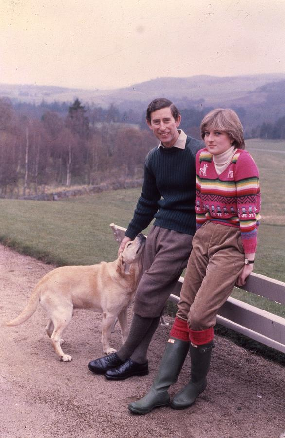 Prince Charles And Lady Diana Photograph