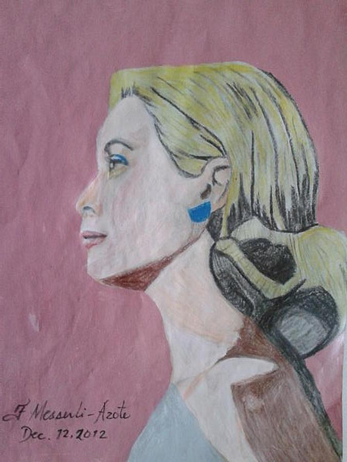 Princess Grace  Painting