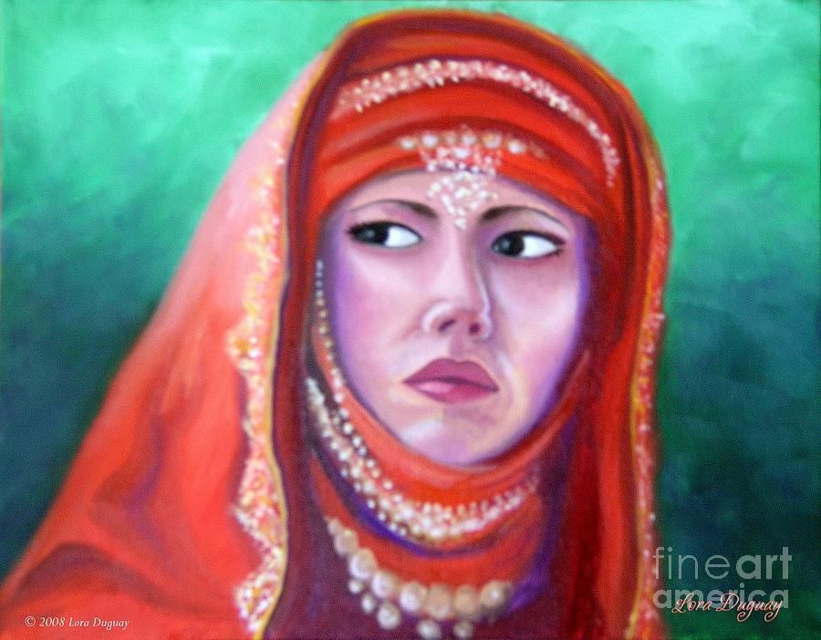 Princess Painting - Princess Sibylla by Lora Duguay