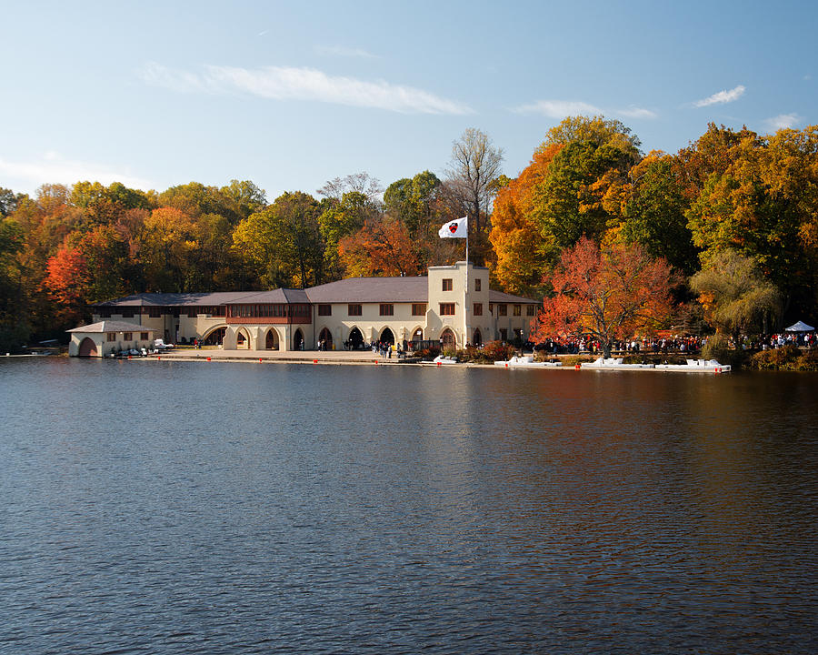 Princeton Crew Boathouse Princeton New Jersey Photograph
