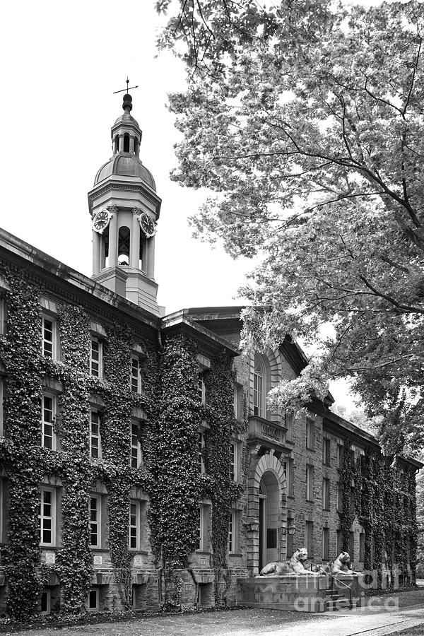 Princeton University Nassau Hall Photograph