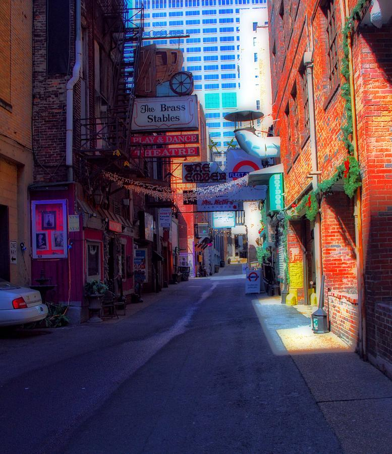 Printers Alley Nashville Tennessee Photograph