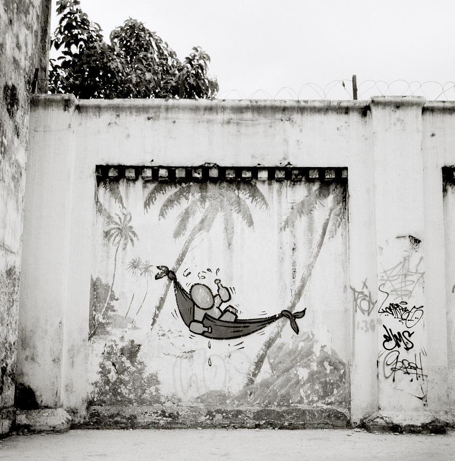 Prison Mural Photograph
