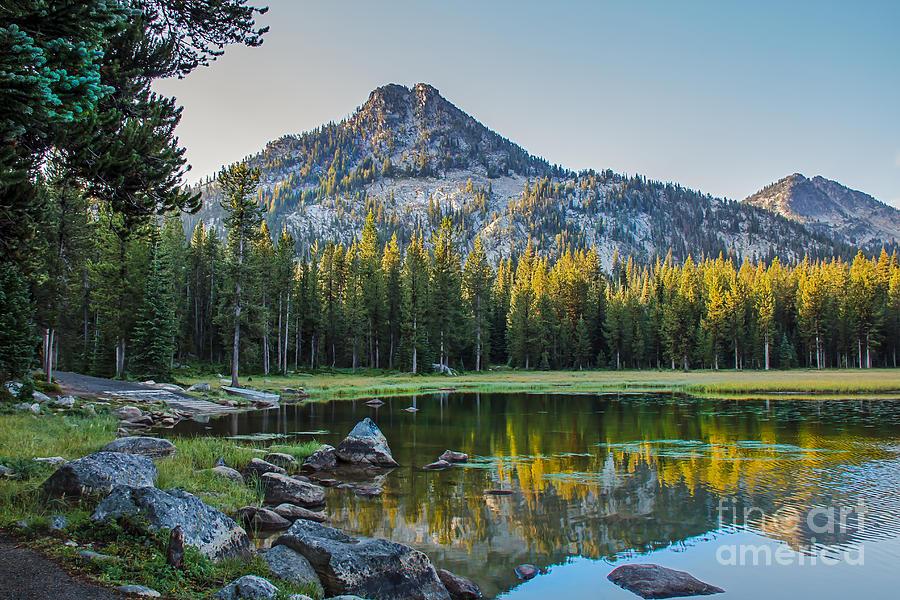 Pristine Alpine Lake Photograph