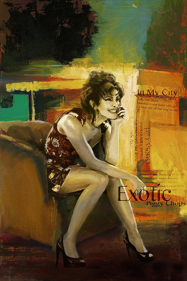 Priyanka Chopra Painting