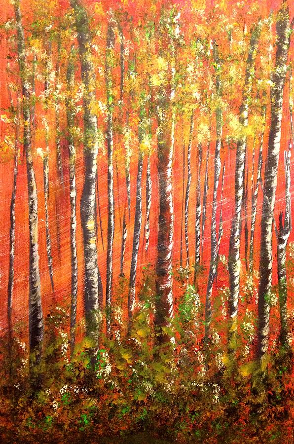 Forest Painting - Promise by Debra Kent