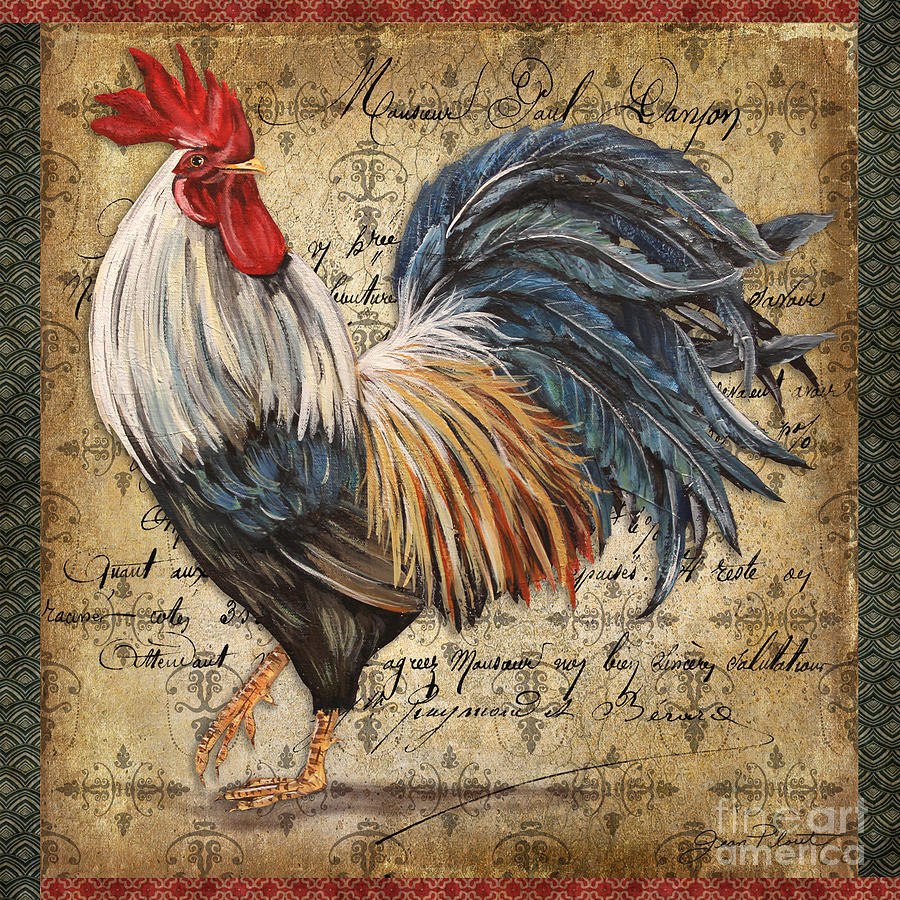 Proud Rooster-d by Jean Plout