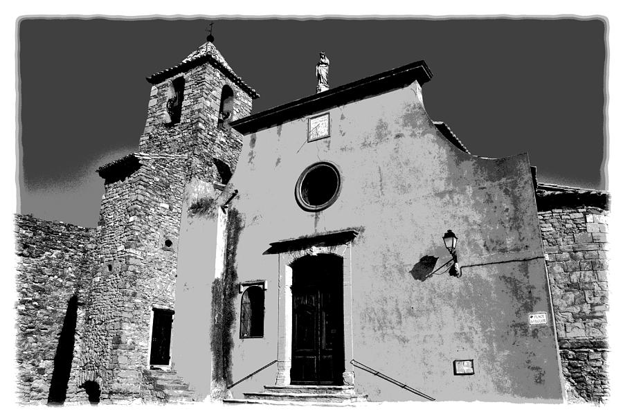 Provencal Church Photograph  - Provencal Church Fine Art Print