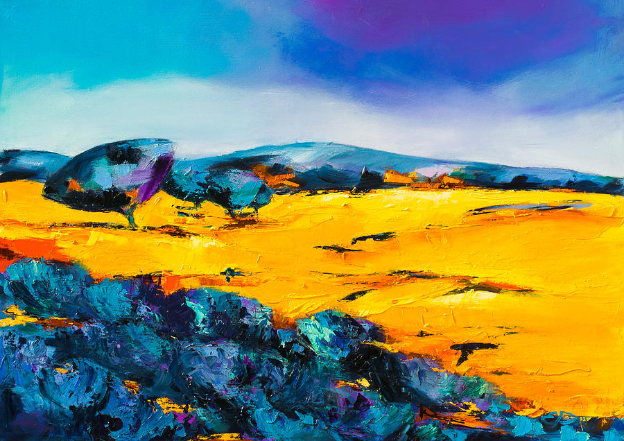 Provence Colors Painting