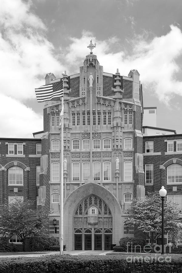 Providence College Harkins Hall Photograph