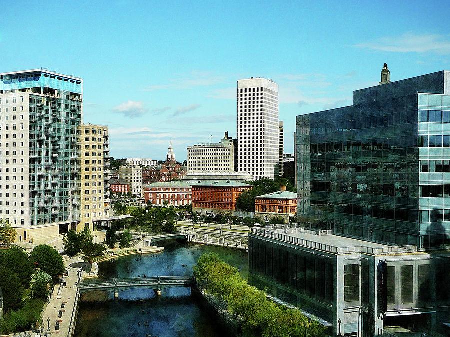Providence Ri Skyline Photograph