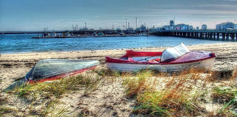 Provincetown Photograph - Provincetown Beach by Susan Lee Giles