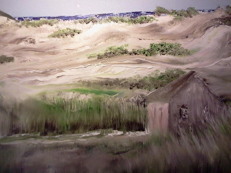 Provincetown Landscape Painting