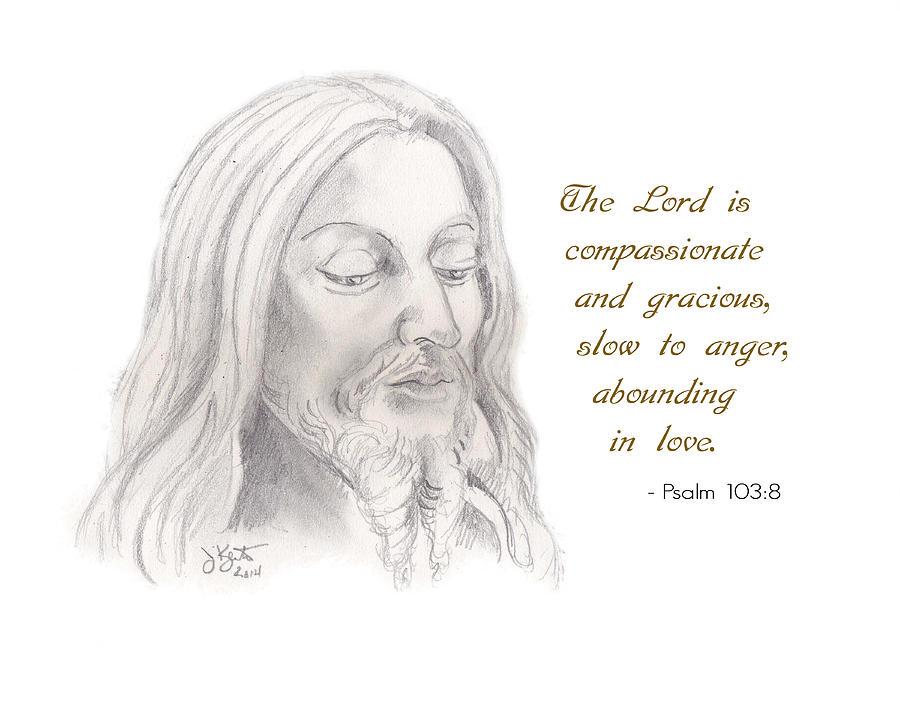 Psalm 103 Verse 8 Drawing