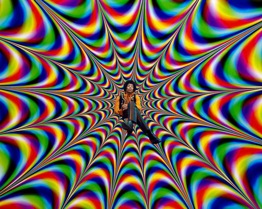 Jimi Hendrix Psychedelic Art Www Imgkid Com The Image Kid Has It