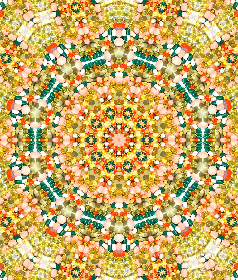Psychedelic Pattern Photograph