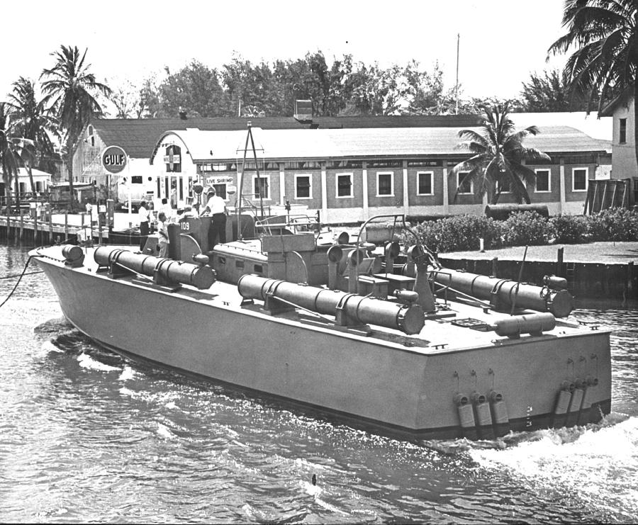 Pt Boat Photograph By Retro Images Archive
