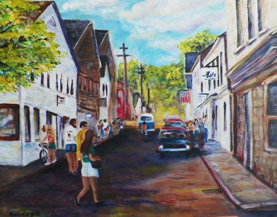 Ptown Streets Painting