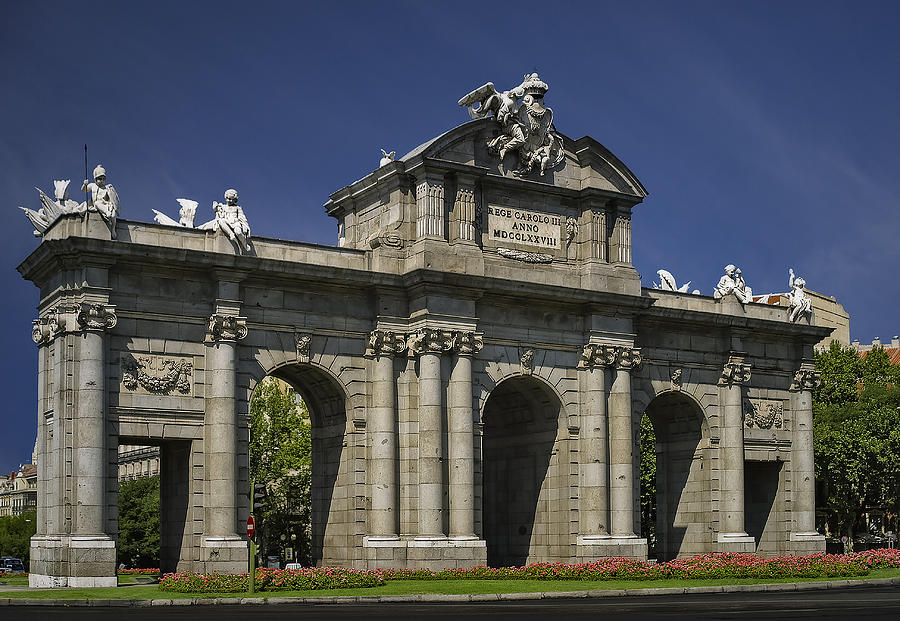 Puerta De Alcala Madrid Spain Photograph