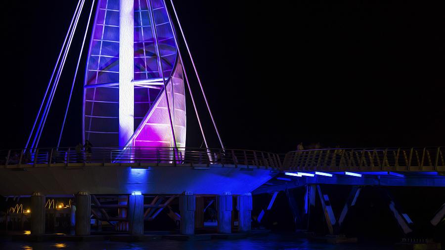 Puerto Vallarta Pier Photograph