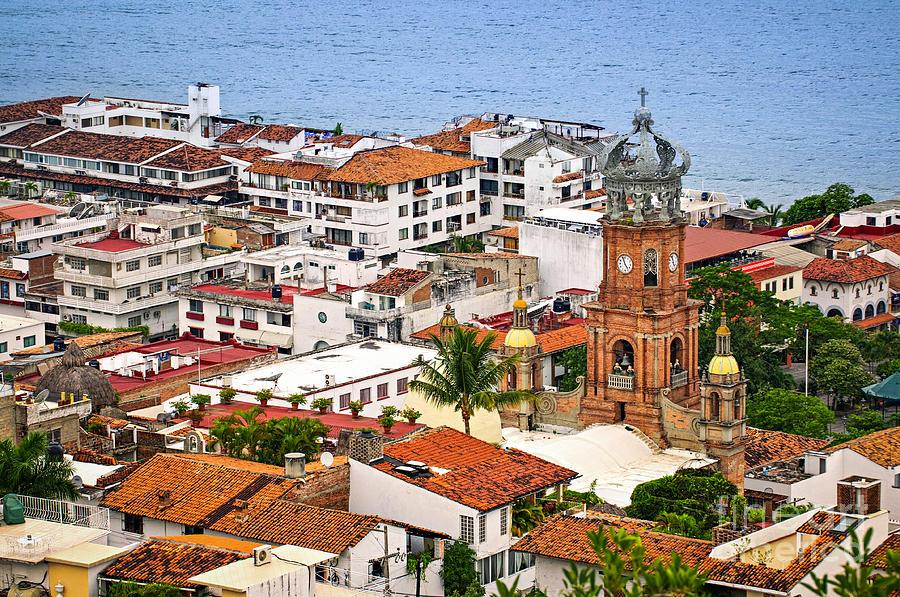 Puerto Vallarta Rooftops Photograph