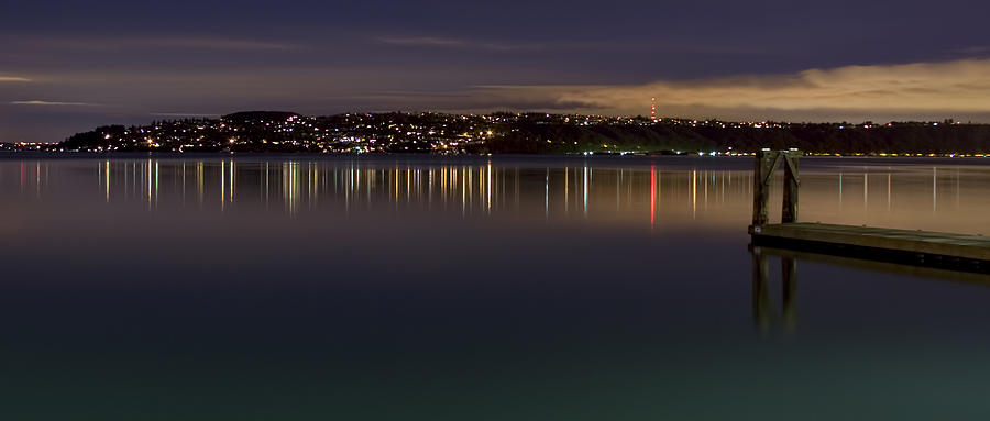 Puget Sound Reflections Photograph