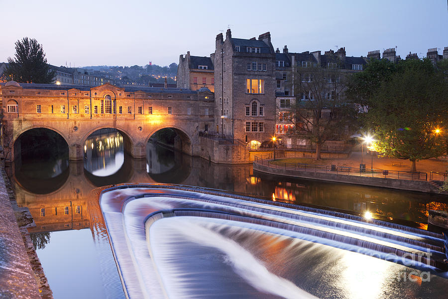 Pulteney Bridge And Weir Bath Photograph  - Pulteney Bridge And Weir Bath Fine Art Print