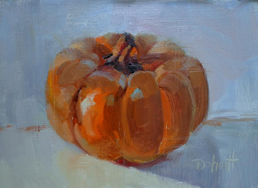 Pumpkin Alone Painting