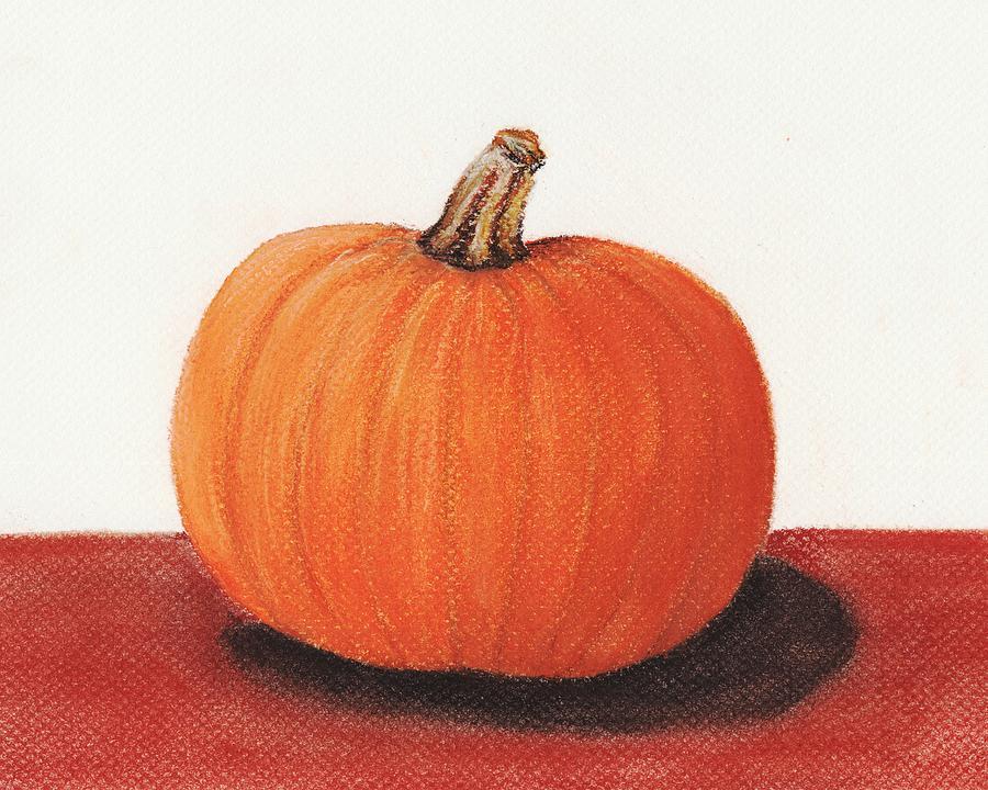 Malakhova Painting - Pumpkin by Anastasiya Malakhova