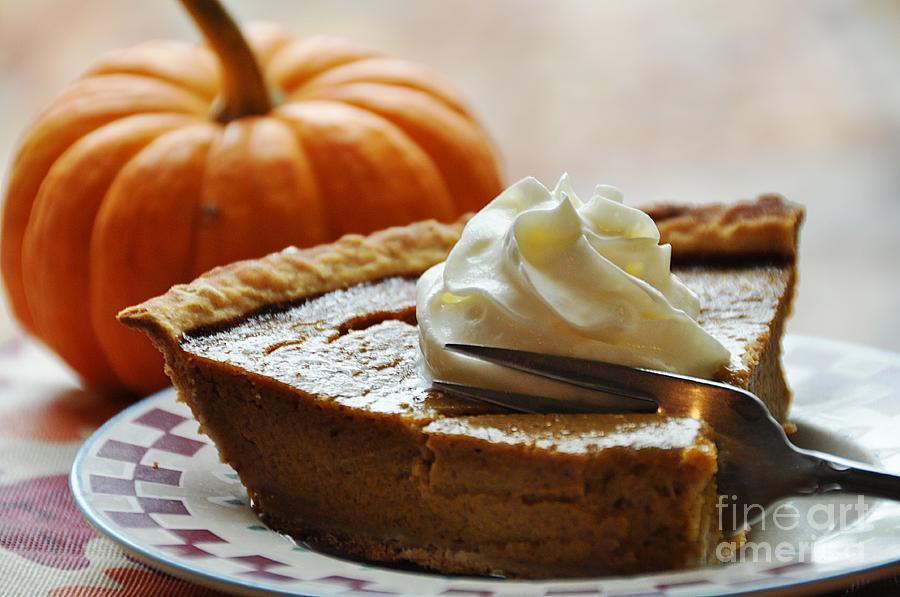 Food Photograph - Pumpkin Delight by Cheryl Baxter