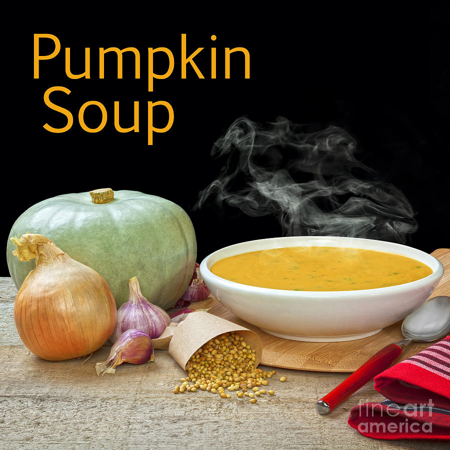 Pumpkin Soup Concept Photograph