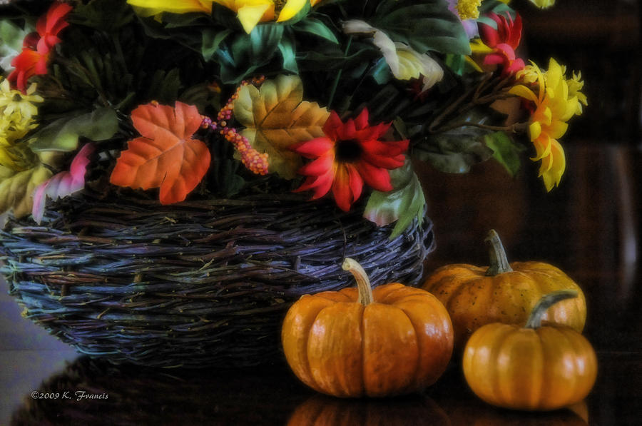 Pumpkin Still Life Photograph  - Pumpkin Still Life Fine Art Print