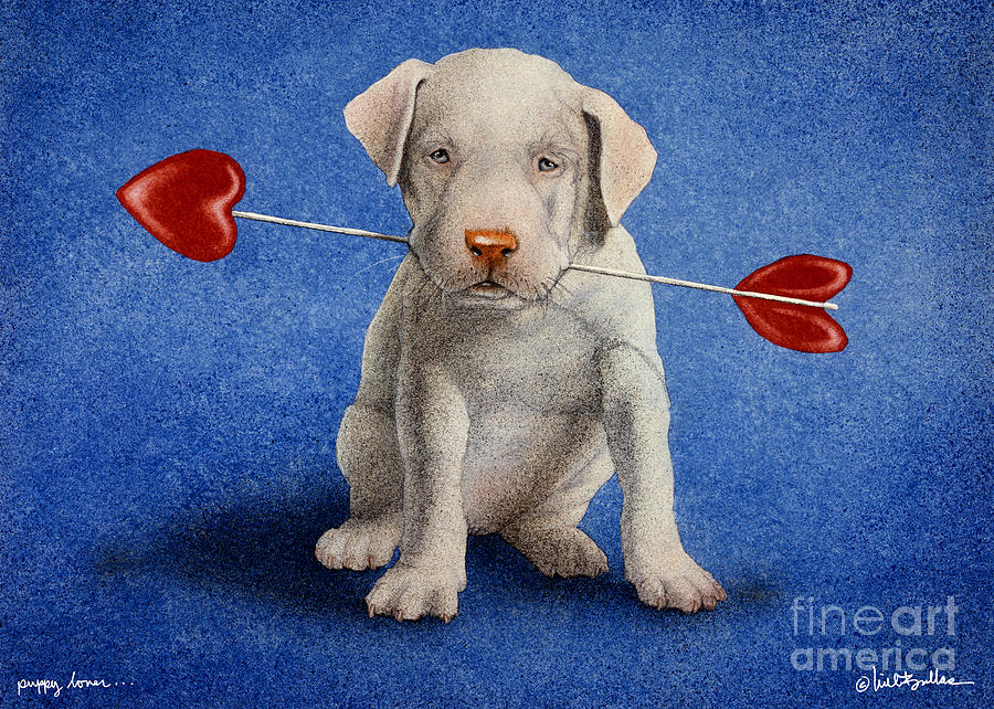 Puppy Lover... Painting