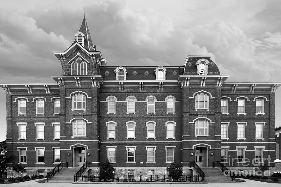 Purdue University Hall Photograph