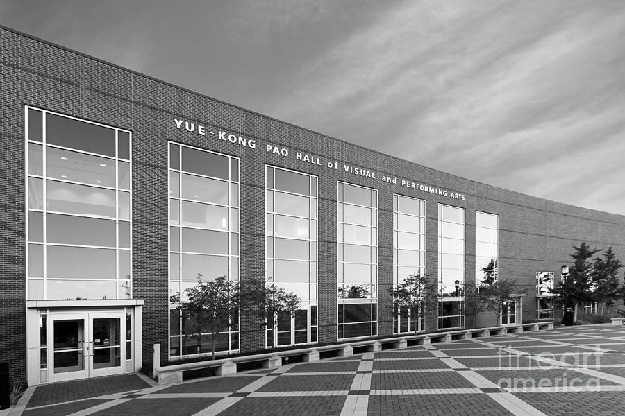 Purdue University Pao Hall  Photograph