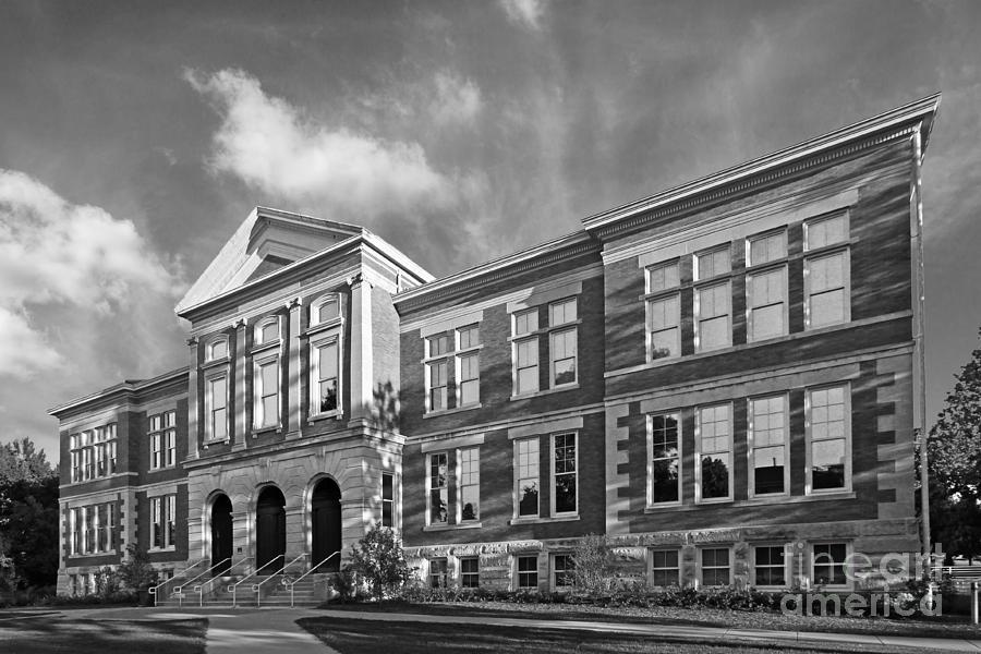 Big 10 Photograph - Purdue University Pfendler Hall by University Icons
