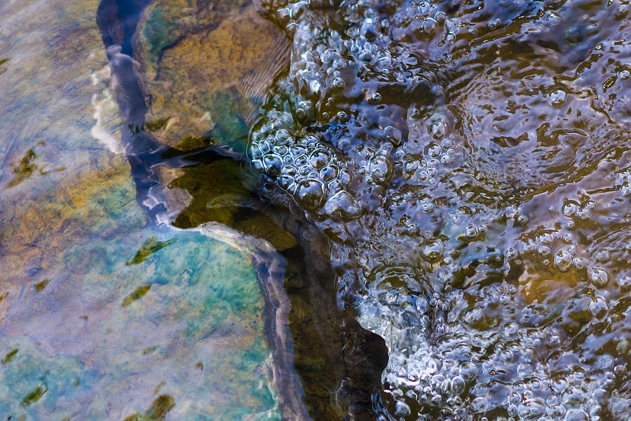 Abstract Photograph - Purl Of A Brook 1 - Featured 3 by Alexander Senin