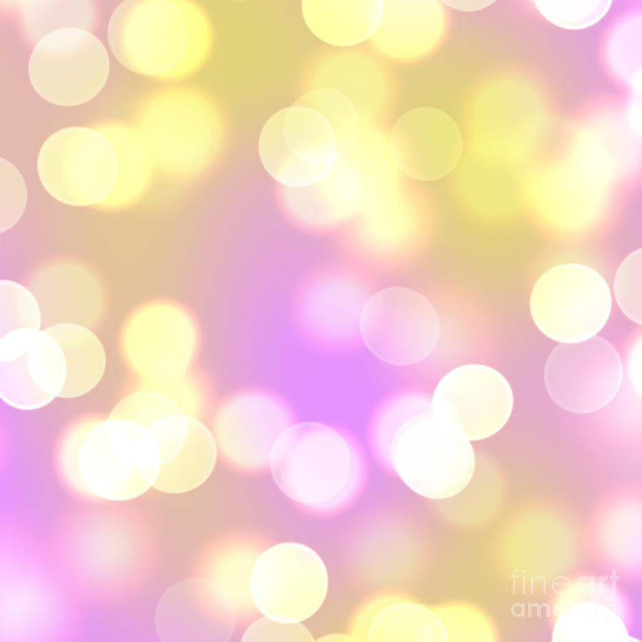 purple and gold bokeh background digital art by elle arden