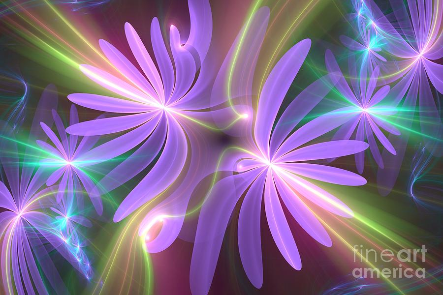 Purple Dream Digital Art