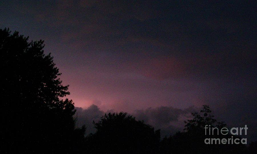 Purple Haze After Storm Photograph