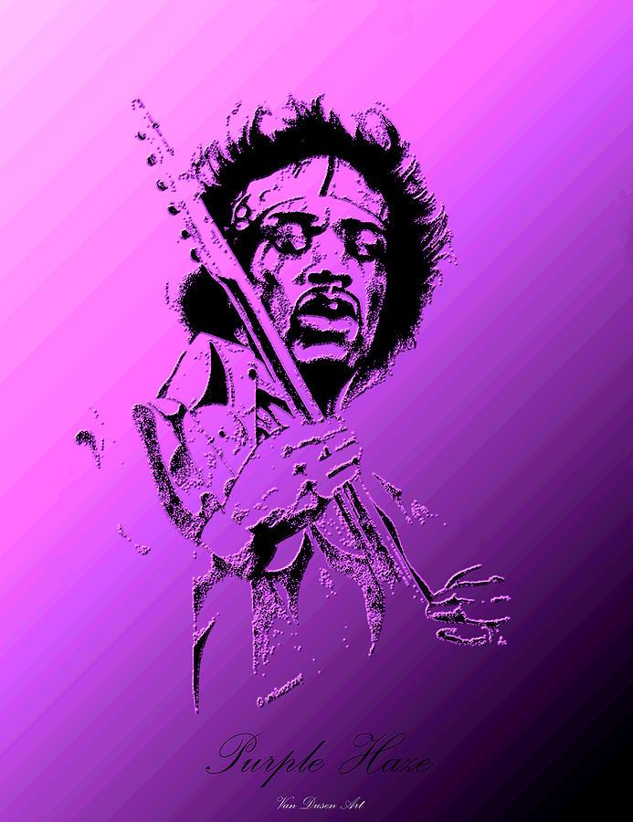 Purple Haze Digital Art by Gordon Van Dusen