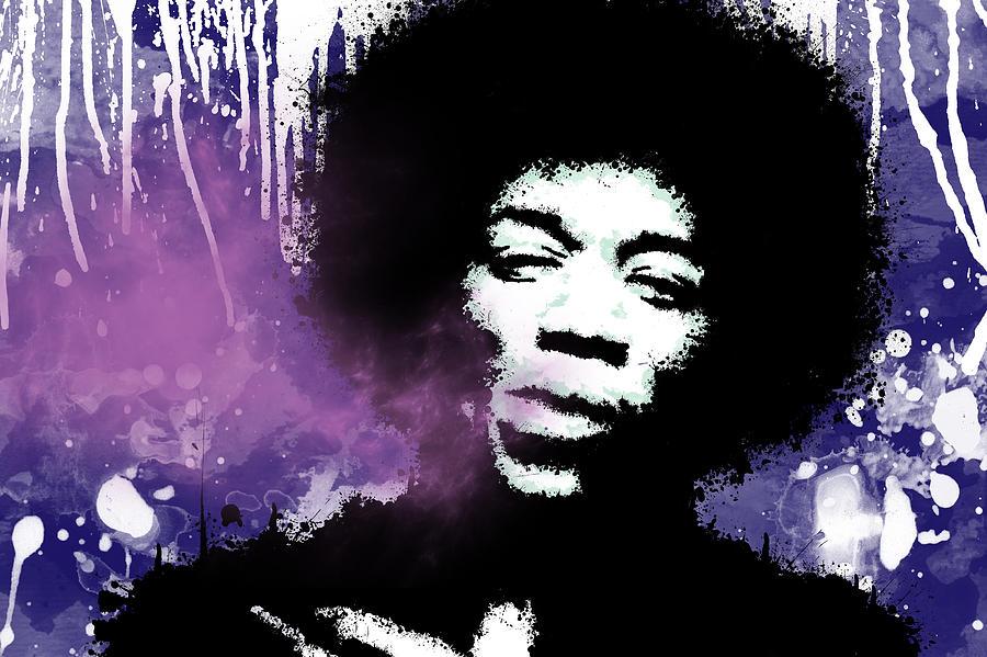 Jimi Hendrix Purple Haze Poster Jimi Hendrix Purple Haze