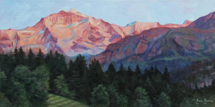 Purple Majesty Painting