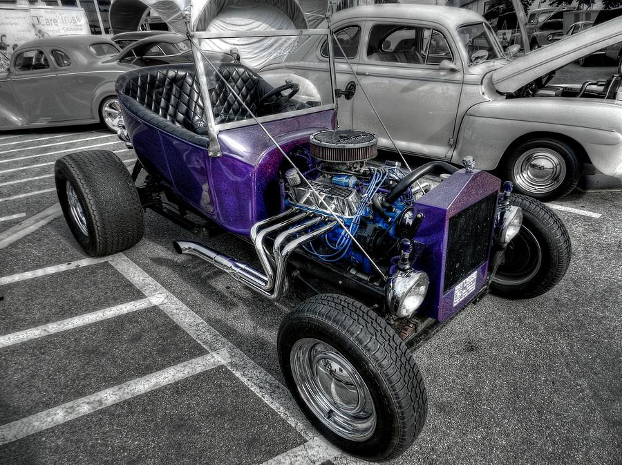 Purple Rod 001 Photograph  - Purple Rod 001 Fine Art Print