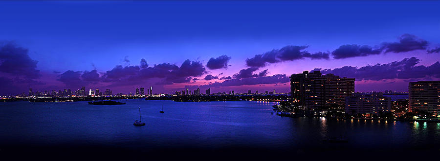 Purple Sunset Photograph