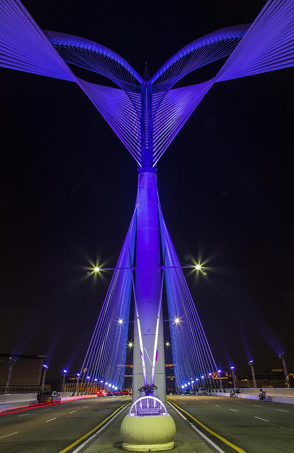 Putrajaya Bridge Photograph - Putrajaya Bridge by Mario Legaspi