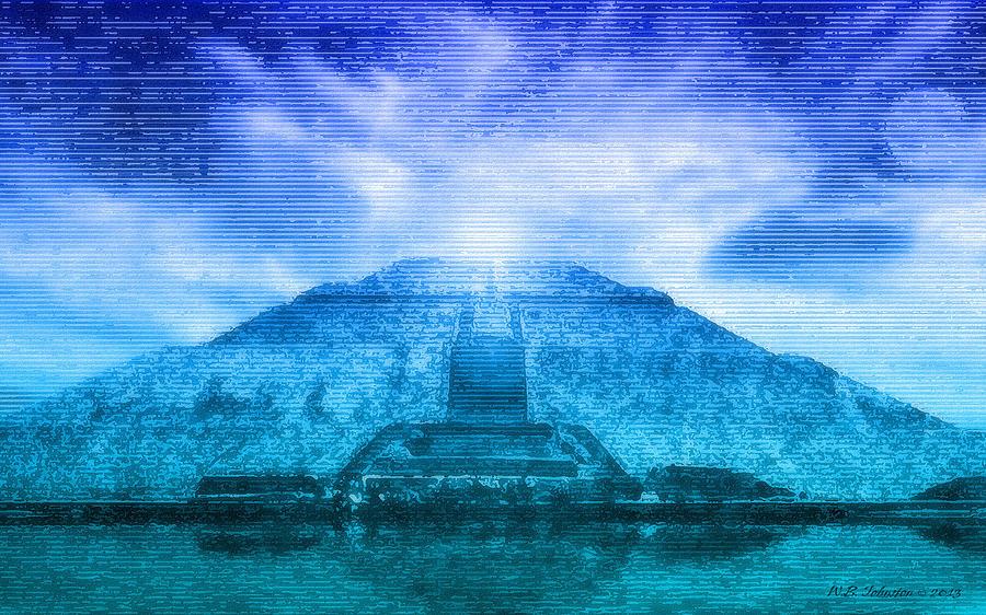 Pyramid Of The Sun Photograph