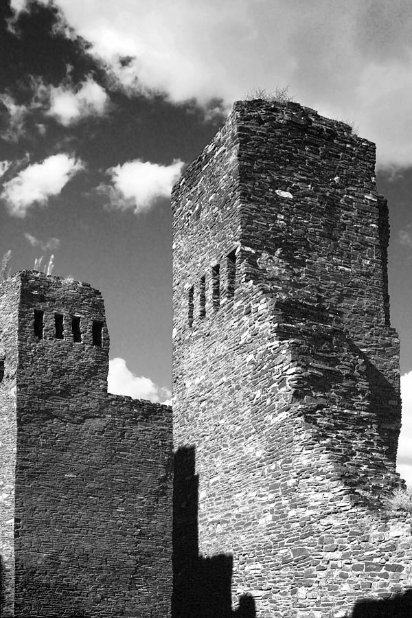 Quarai At Salinas Pueblos Mission Nm Photograph  - Quarai At Salinas Pueblos Mission Nm Fine Art Print
