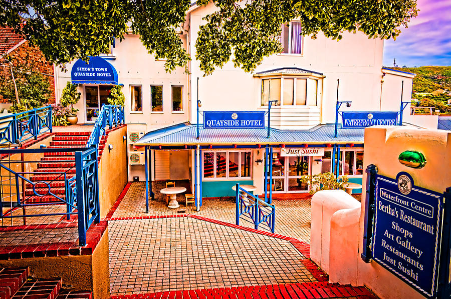 Quayside Hotel Of Simons Town Photograph